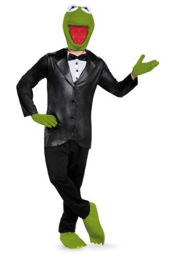 Deluxe Kermit The Frog Men's Costume