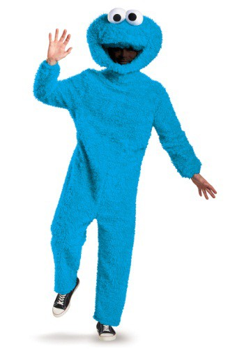Prestige Cookie Monster Adult Costume