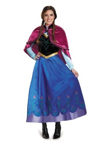 Frozen Traveling Anna Prestige Adult Costume