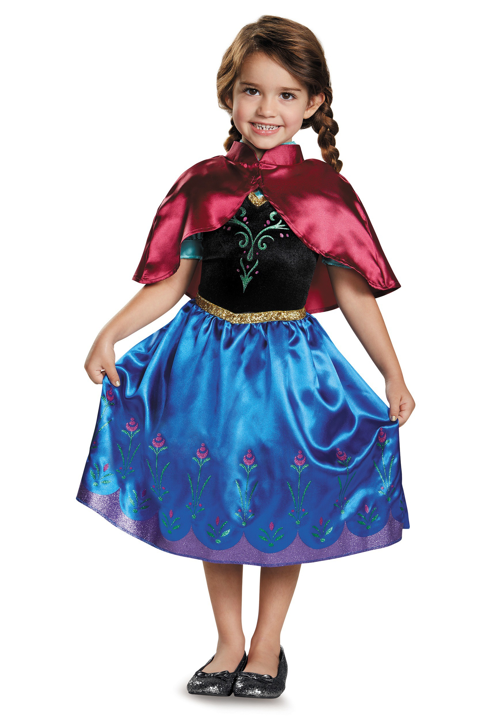 Frozen Traveling Anna Classic Toddler Costume  sc 1 st  Fun.com & Frozen Traveling Anna Classic Costume for toddler