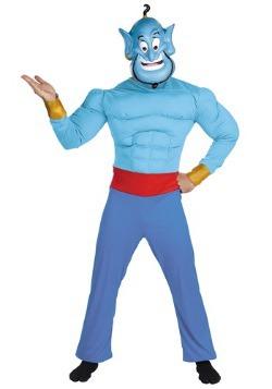Mens Genie Costume