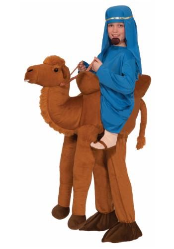 Child Ride A Camel Costume