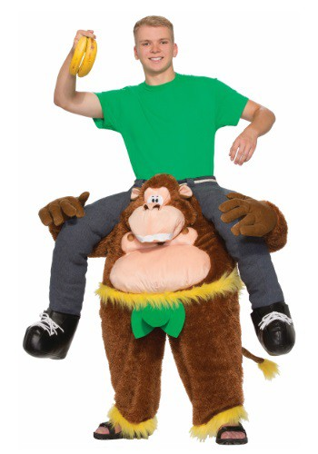 Ride On Monkey Adult Costume - from $79.99