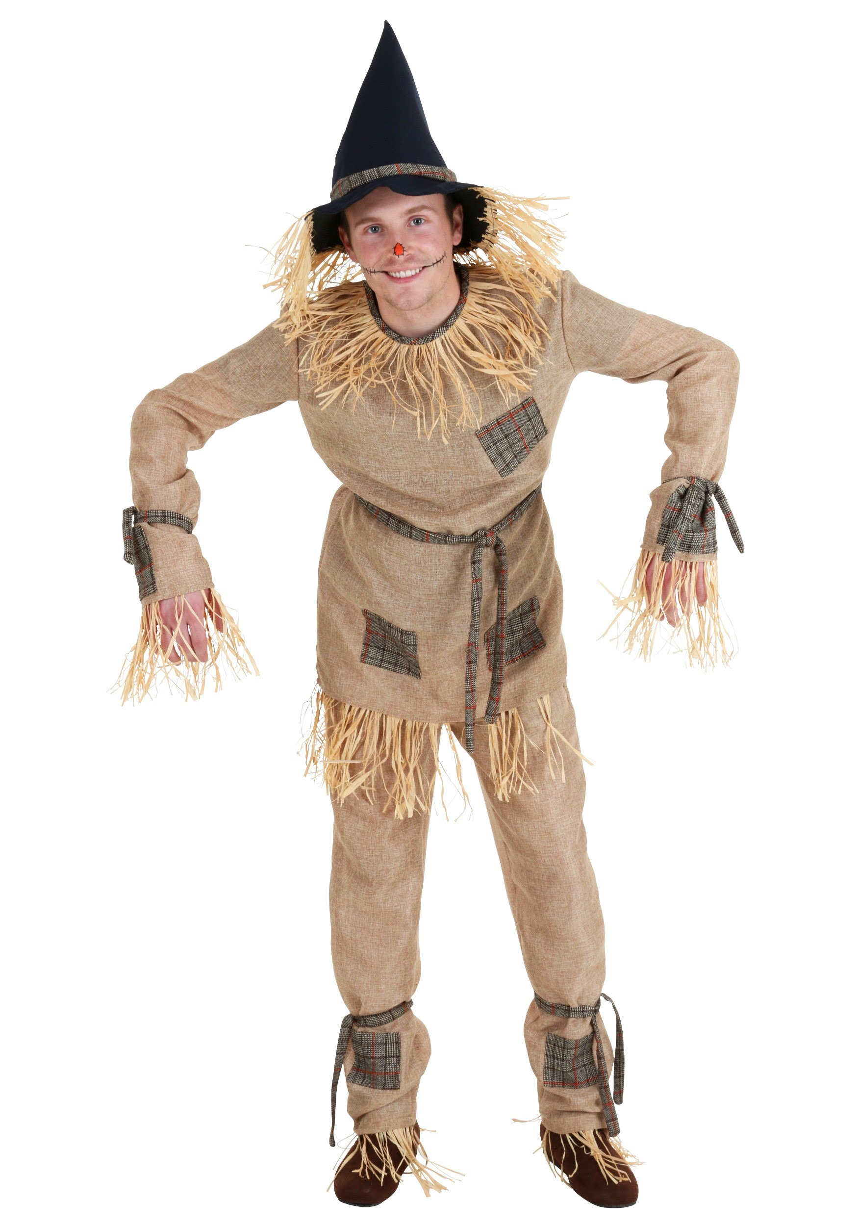 Classic Adult Scarecrow Costume  sc 1 st  Fun.com : plus size indian halloween costumes  - Germanpascual.Com