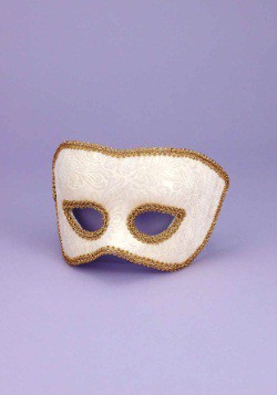 Karneval Beige Adult Mask