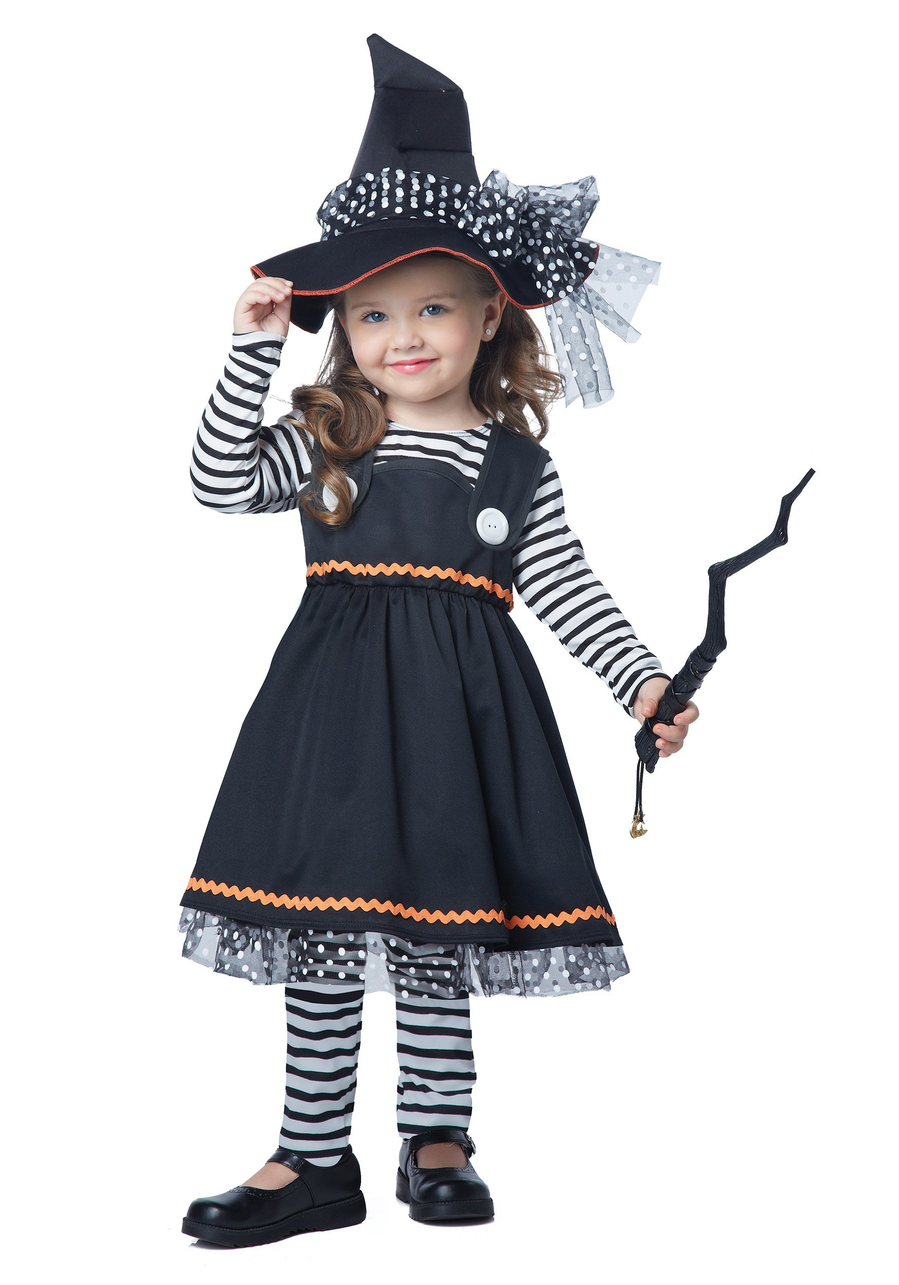 Crafty Little Witch Costume For Little Kids  sc 1 st  Fun.com & Crafty Little Witch Costume For Toddlers