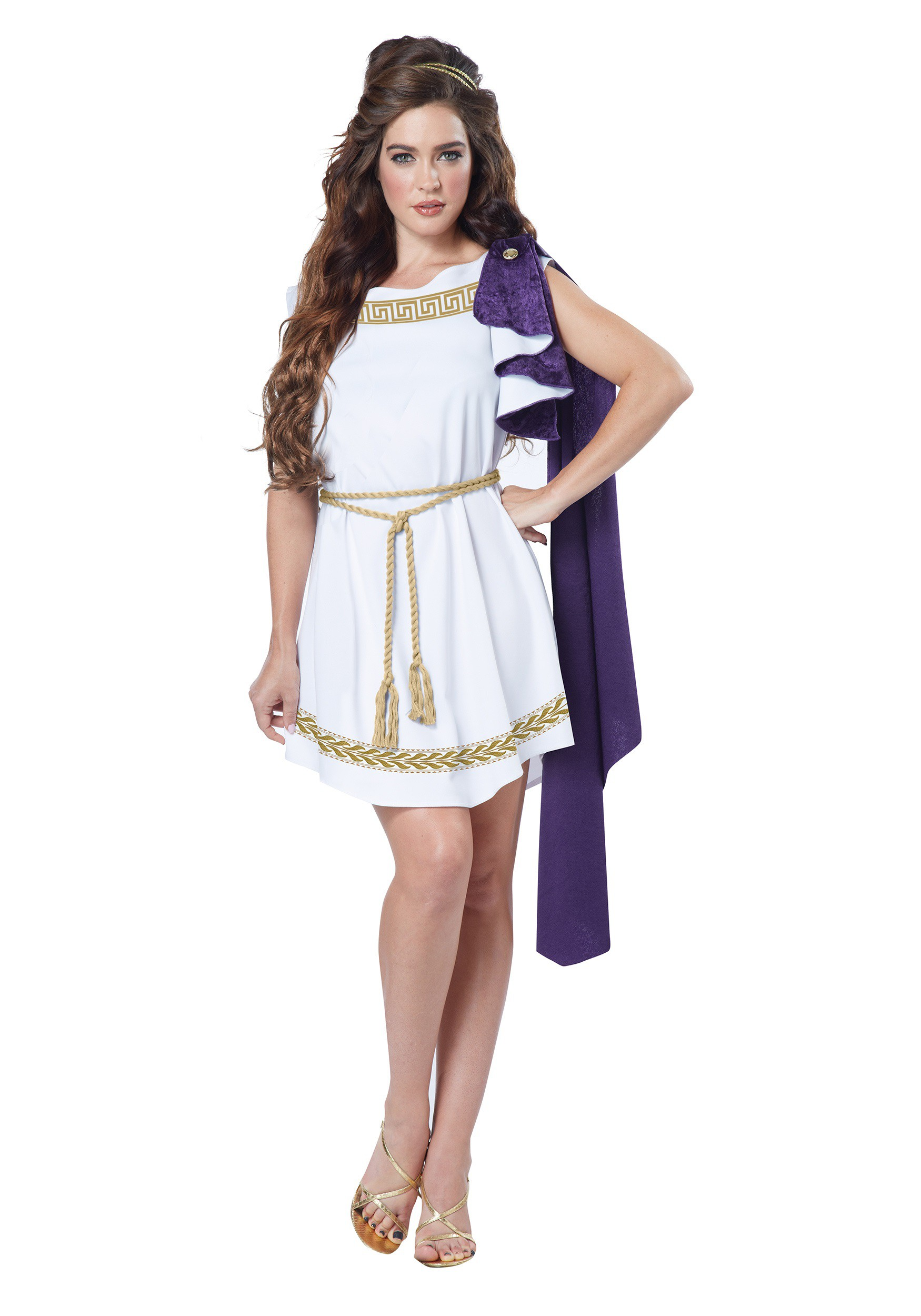 Grecian Costume Dress For Adults