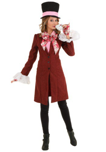 Deluxe Mad Hatter Plus Size Women's Costume