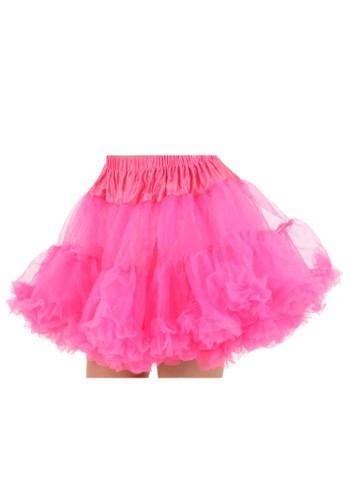 Hot Pink Plus Size Petticoat