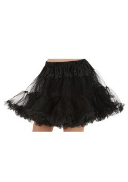 Black Plus Size Petticoat