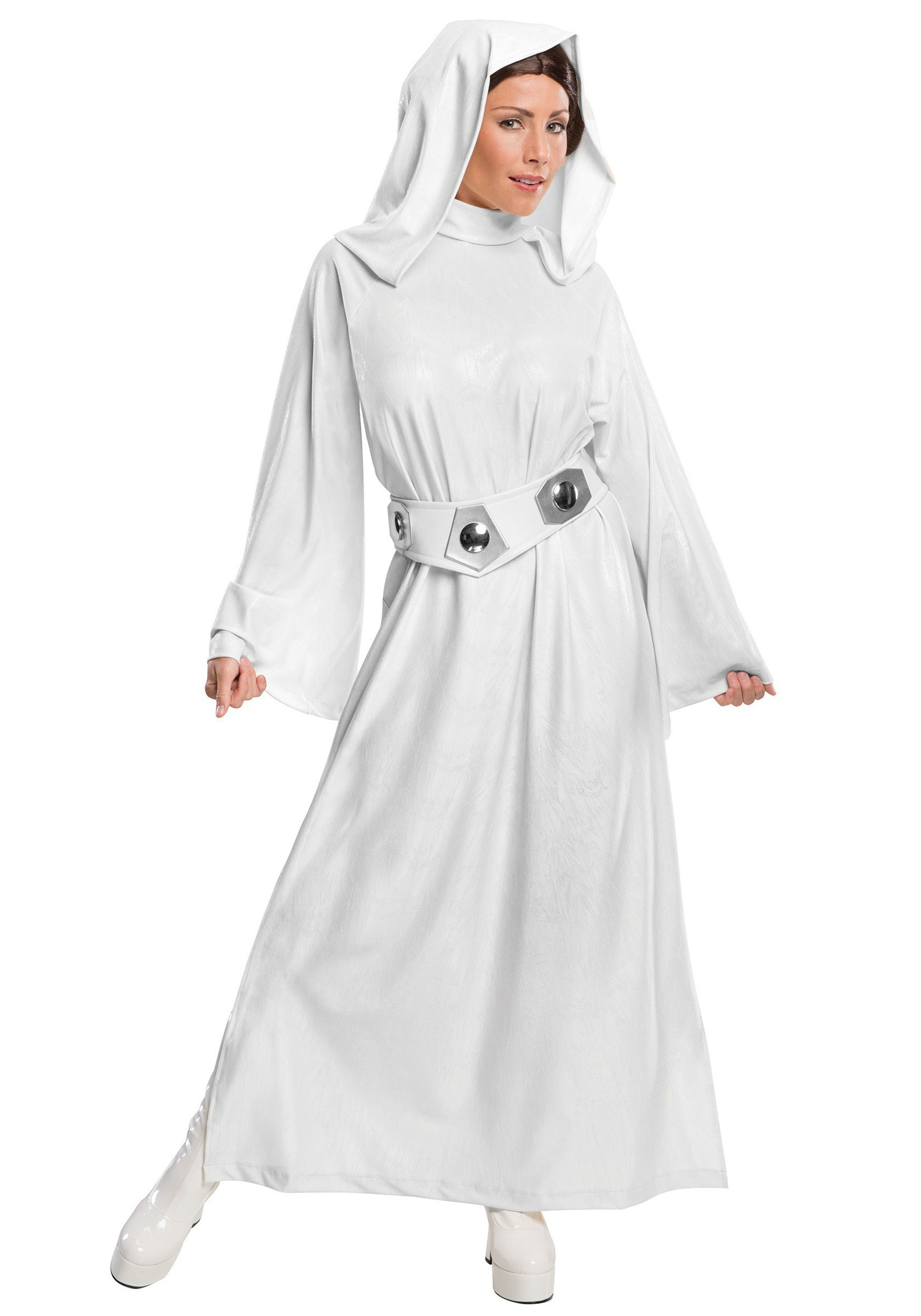 Deluxe Princess Leia Womens Costume  sc 1 st  Fun.com & Deluxe Princess Leia Costume for Women
