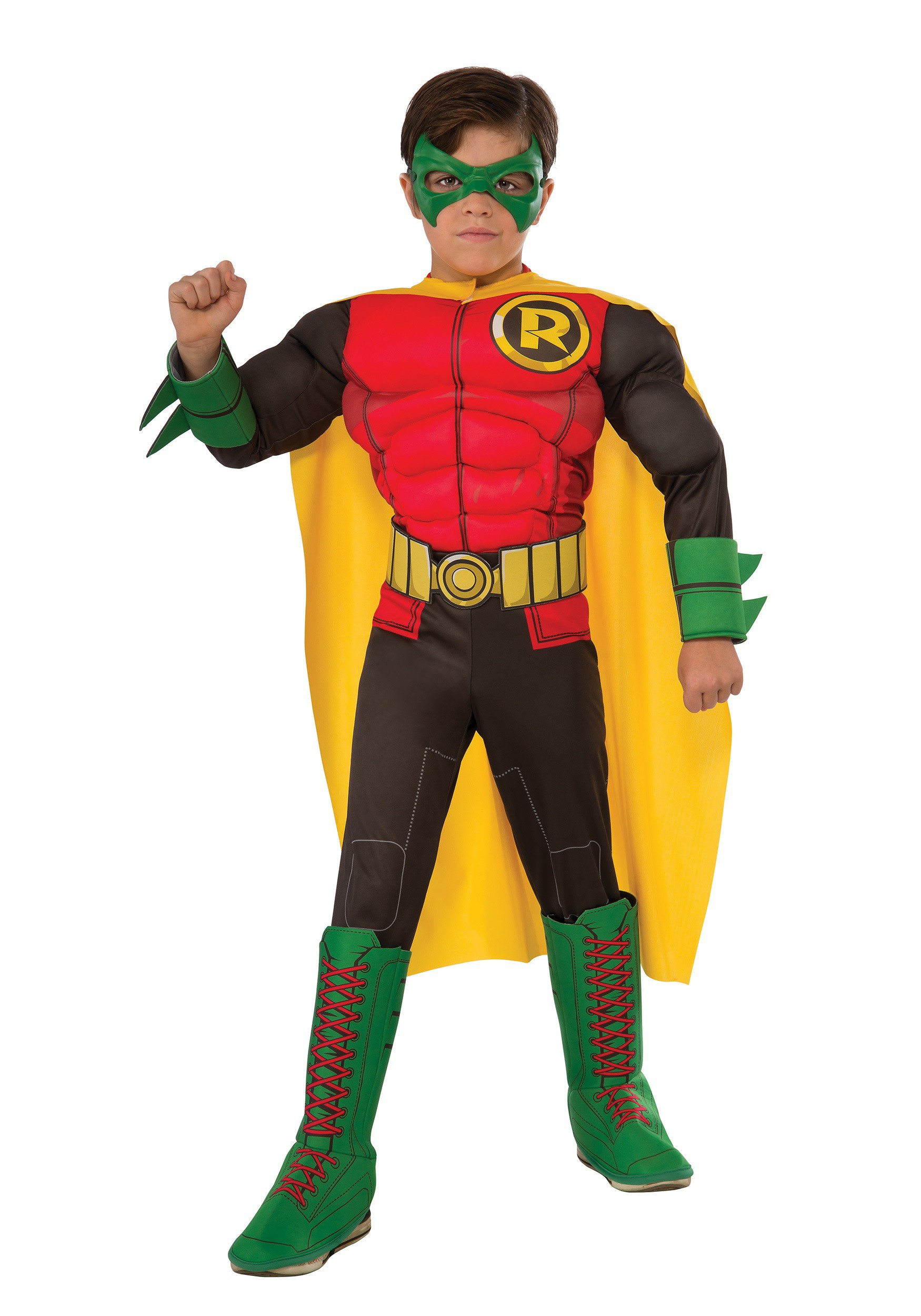 ee5bc7f4e772 DC Comics Deluxe Robin Costume for kids