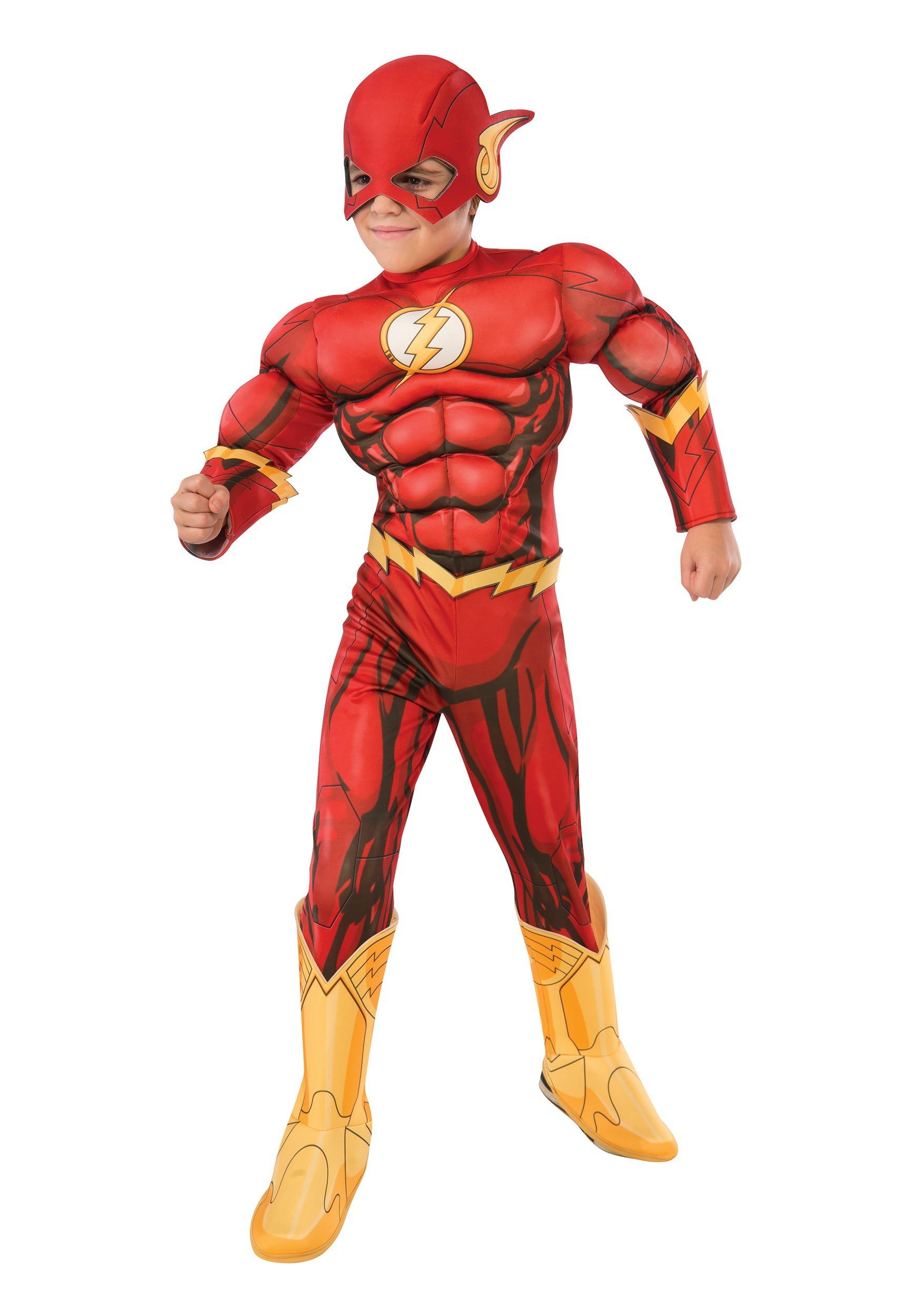 DC Comics Deluxe Child Flash Costume RU610832