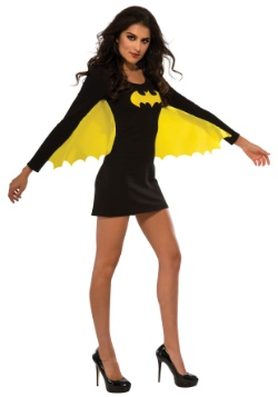 Women's Batgirl Yellow Wing Dress