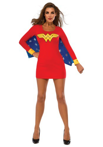 Women's Wonder Woman Wings Dress RU880420