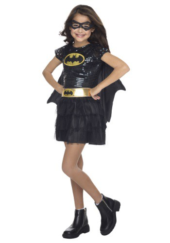 Toddler Batgirl Sequined Costume