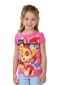 Paw Patrol Hearts And Puppies Toddler Girls T-Shirt