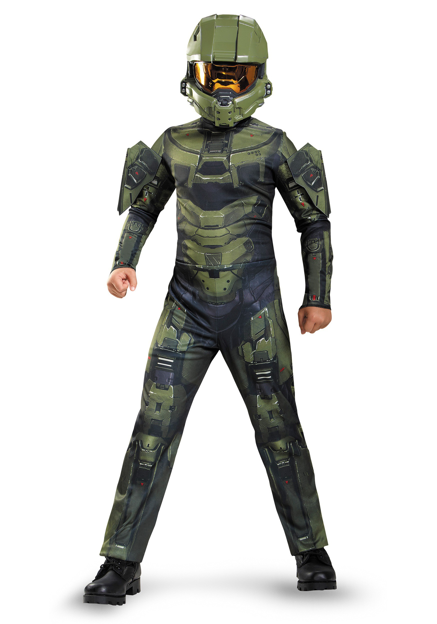 Boys Master Chief Classic Costume  sc 1 st  Fun.com & Master Chief Classic Boys Costume