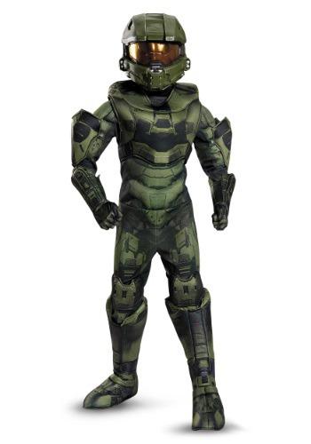 Boys Master Chief Prestige Costume