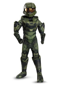Boys Master Chief Prestige Costume