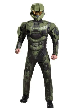 Master Chief Deluxe Muscle Adult Costume