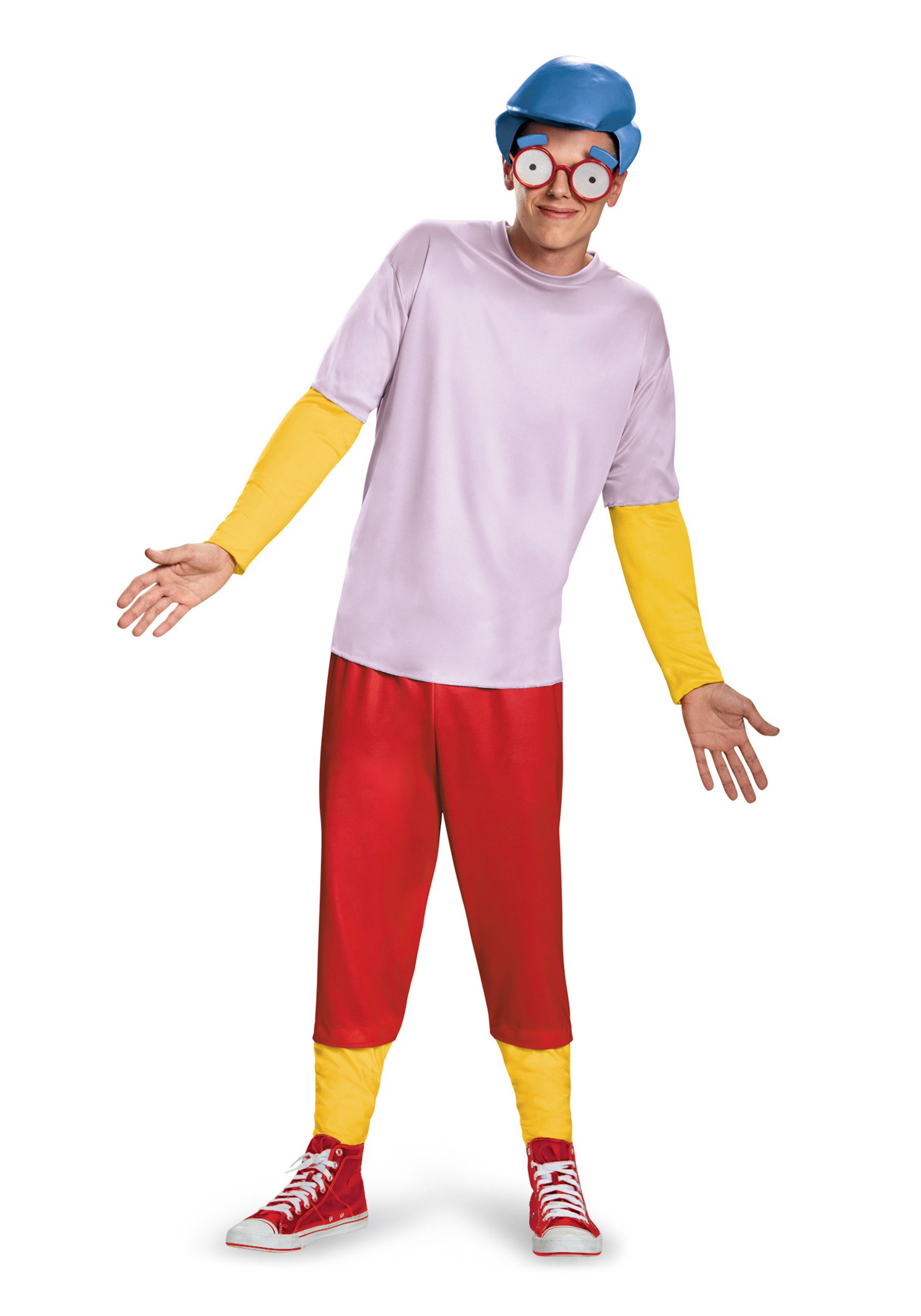 Simpsons Milhouse Deluxe Costume For Teens