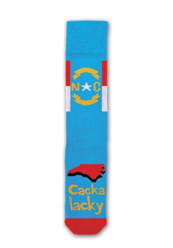 Cackalacky North Carolina Freaker Socks