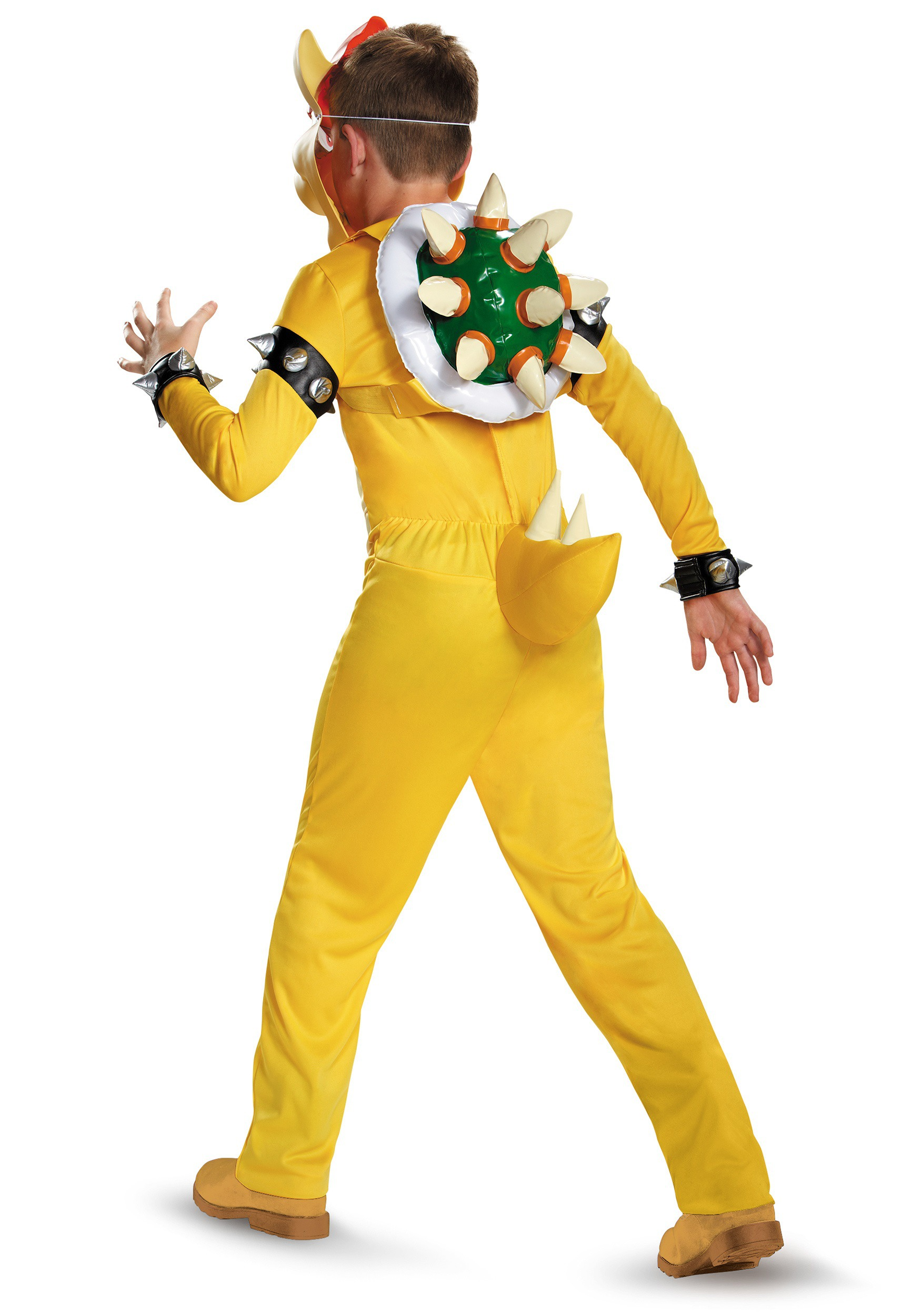 Bowser Deluxe Costume for Boys