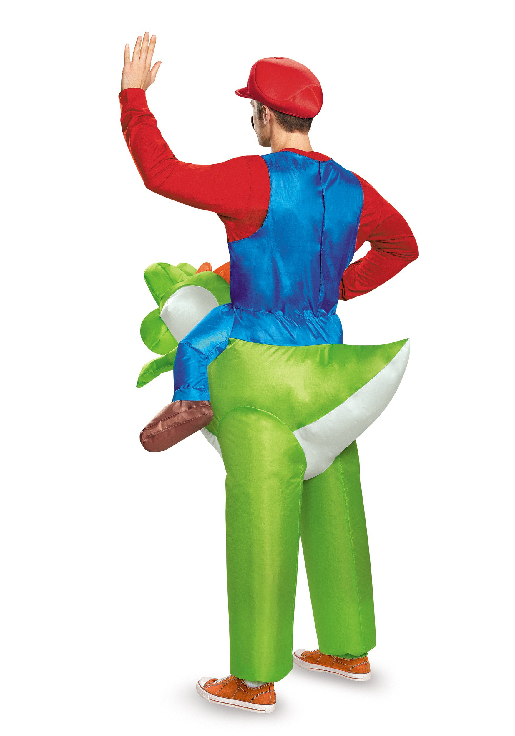 Mario Riding Yoshi Adult Costume Mario Riding Yoshi Adult Costume  sc 1 st  Fun.com & Mario Riding Yoshi Costume for Adults
