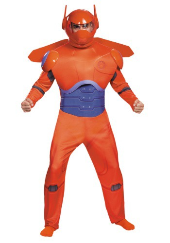 Adult Plus Size Red Baymax Deluxe Costume - from $49.99