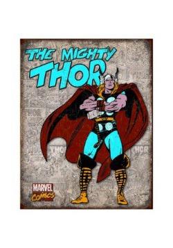 Thor Panel Tin Sign
