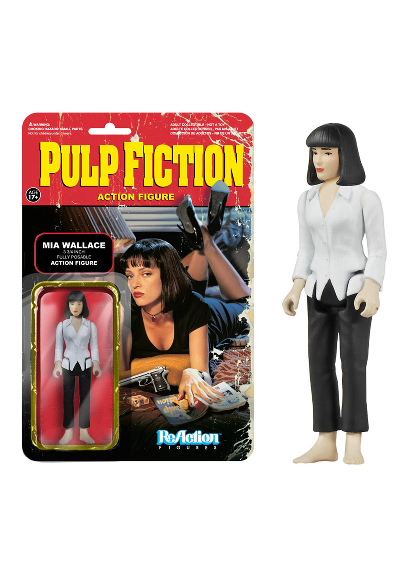 Pulp Fiction Mia Wallace Action Figure FN4084