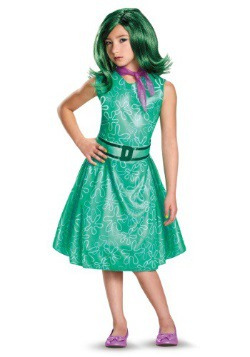 Inside Out Disgust Classic Girls Costume