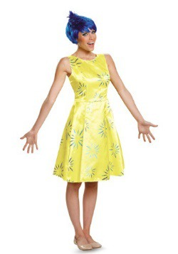 Adult Inside Out Joy Deluxe Costume