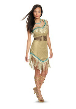 Deluxe Pocahontas Costume For Women