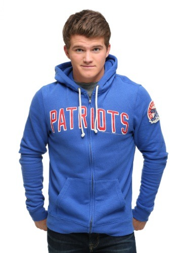 New England Patriots Sunday Zip Up Hoodie