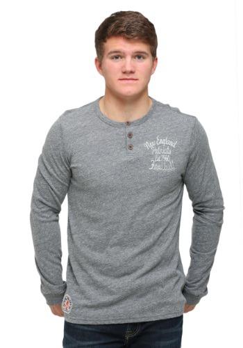 New England Patriots Huddle Henley Shirt