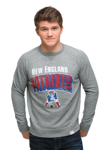 New England Patriots Formation Fleece Mens Sweatshirt