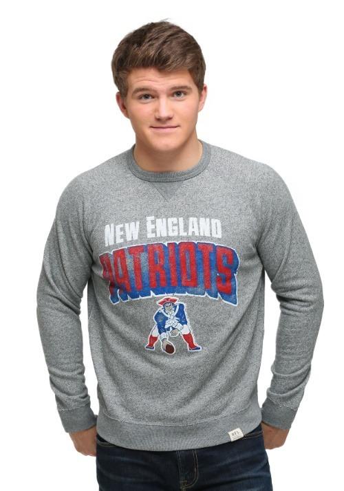 New England Patriots Formation Fleece Mens Sweatshirt