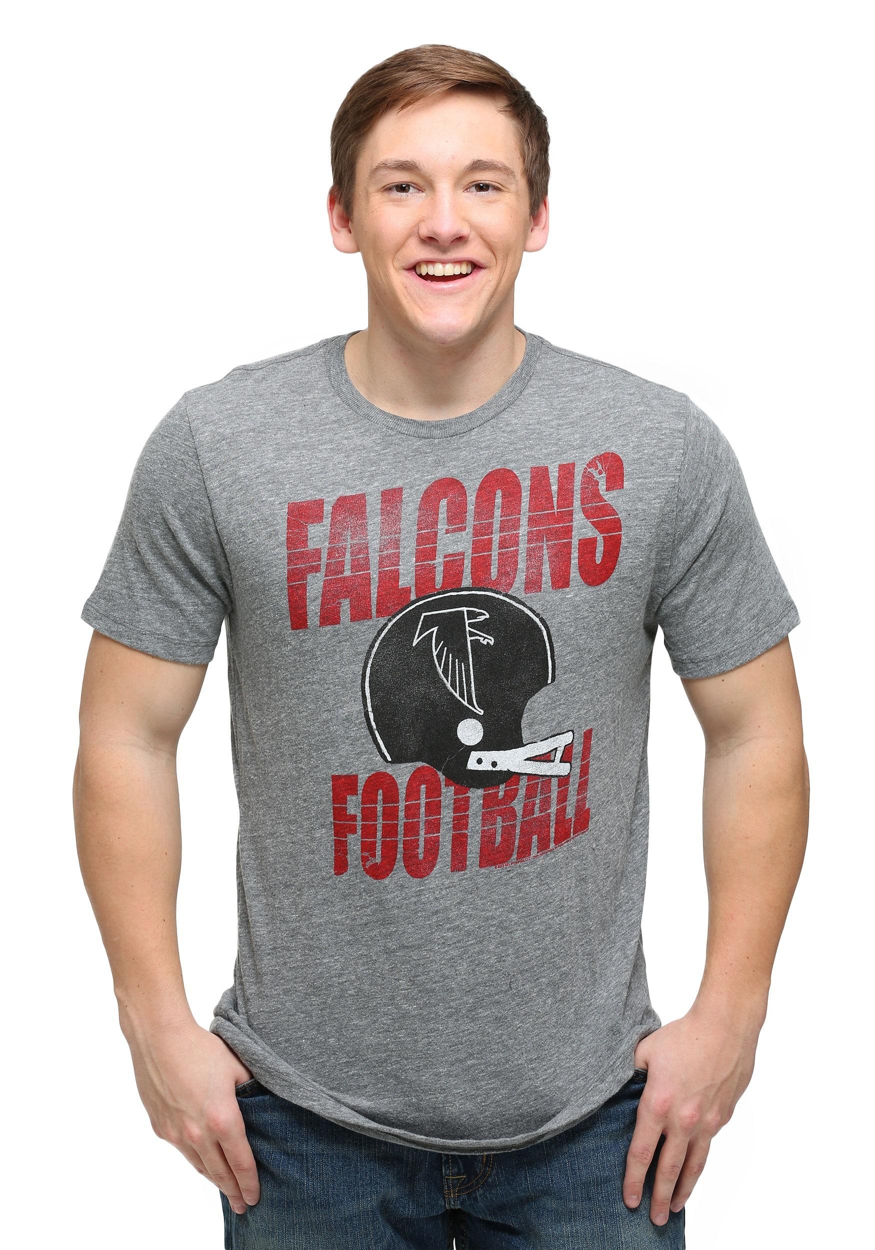 brand new e6edf 4a162 Atlanta Falcons Touchdown Tri-Blend T-Shirt