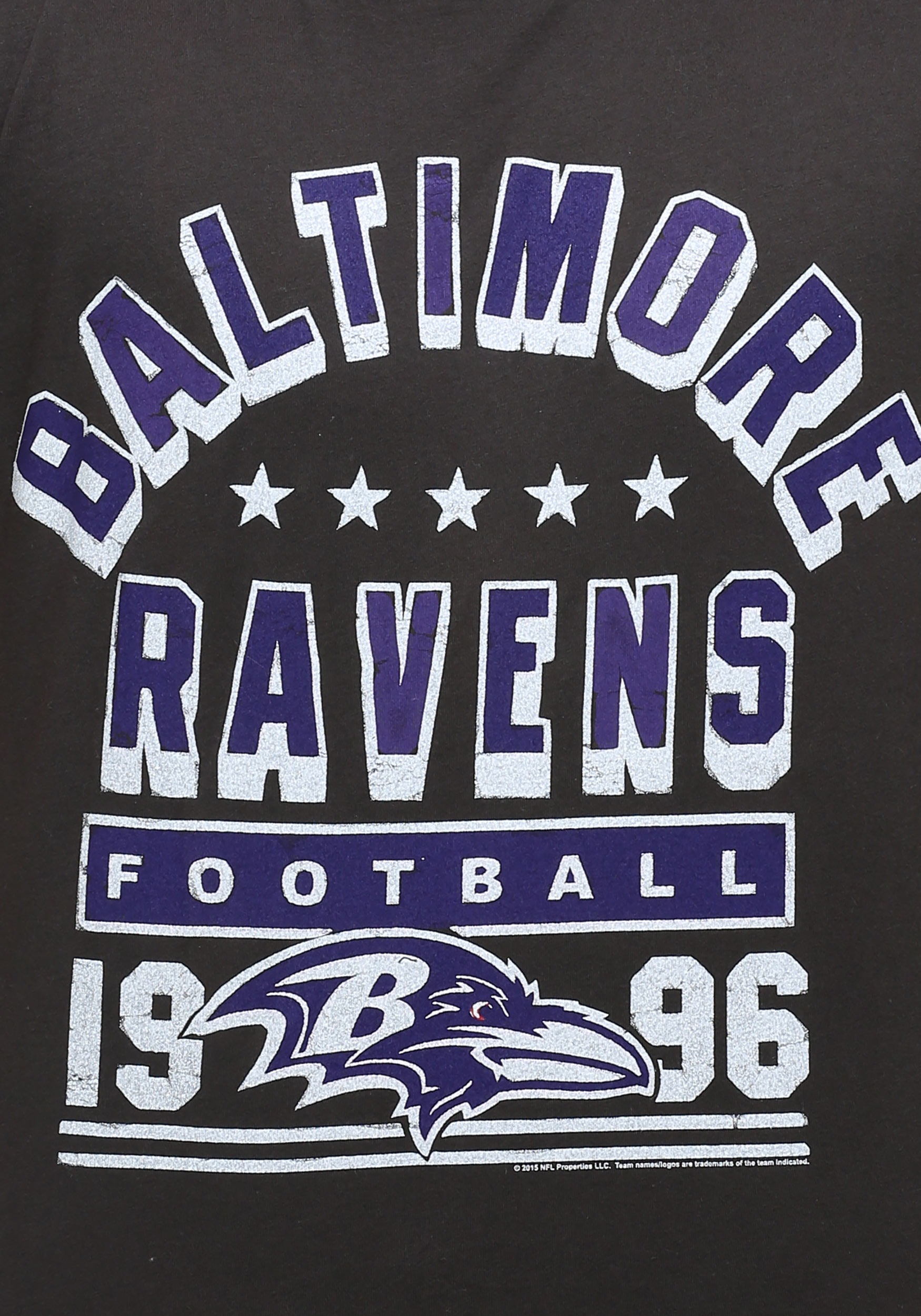 Men's Baltimore Ravens #89 SMITH SR Purple Strobe Limited Jersey