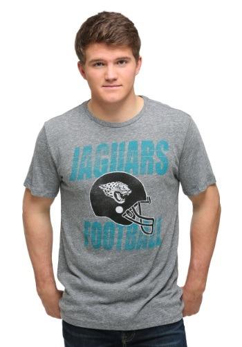 Jacksonville Jaguars Touchdown Tri-Blend Men's T-Shirt