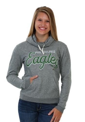 Women's Philadelphia Eagles Sunday Cowl Hooded Sweatshirt