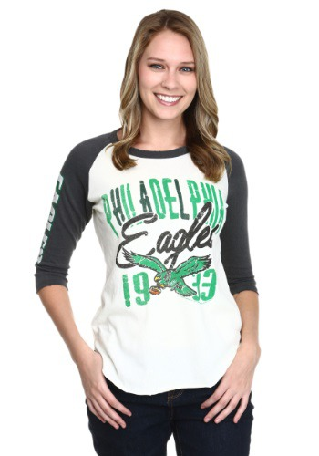 Philadelphia Eagles All American Juniors Raglan Shirt