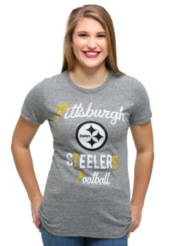 Pittsburgh Steelers Touchdown Tri-Blend Juniors T-Shirt