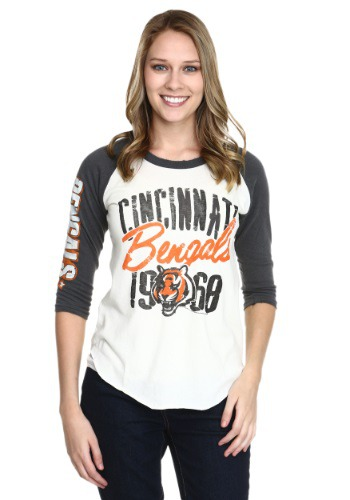 Womens Cincinnati Bengals All American Raglan
