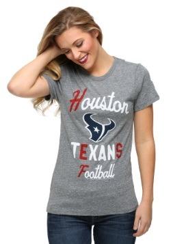 Houston Texans Touchdown Tri-Blend Juniors T-Shirt