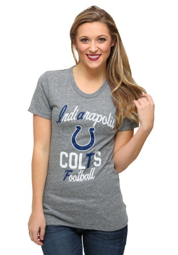 Womens Indianapolis Colts Touchdown Tri-Blend T-Shirt
