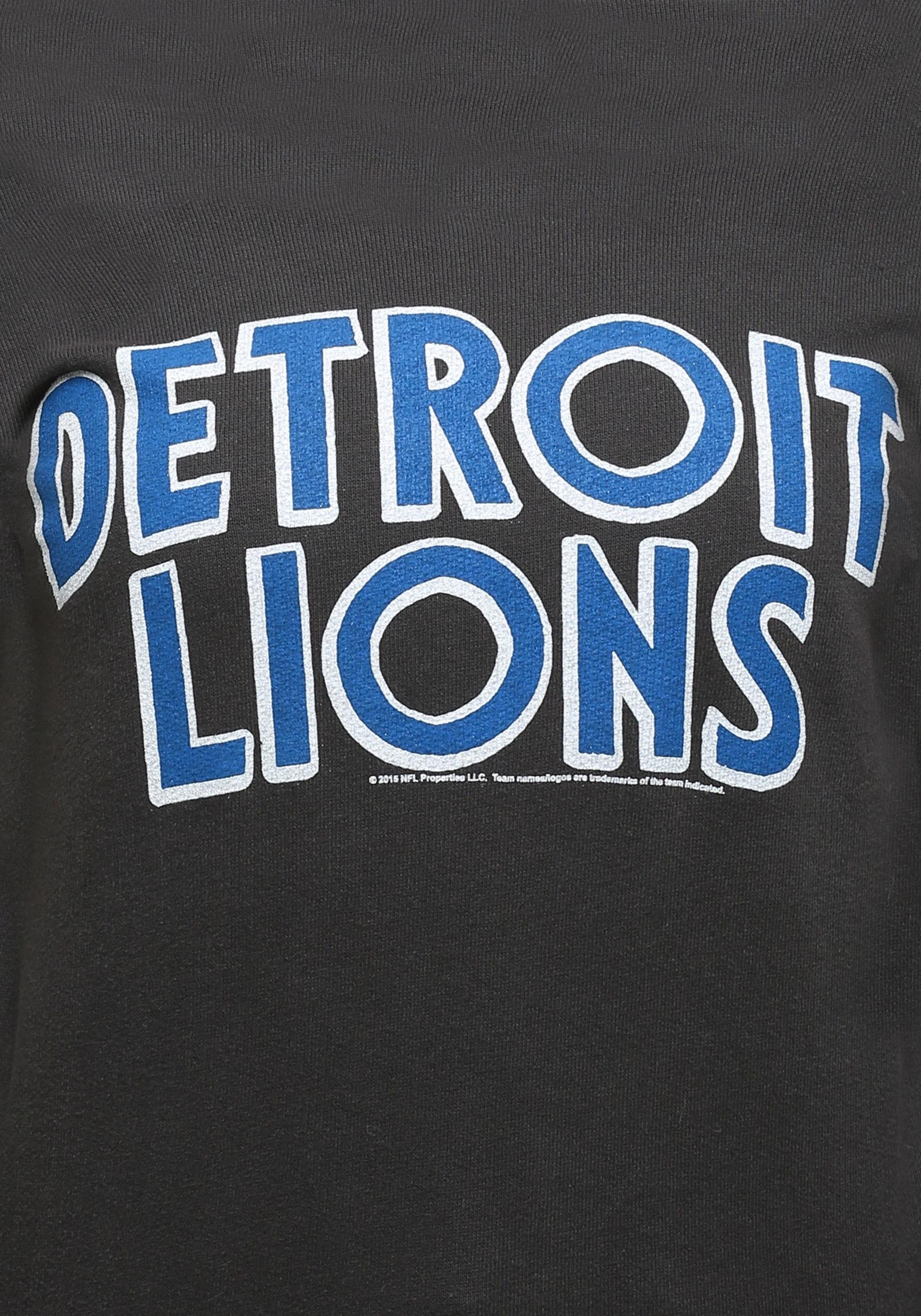 Womens Detroit Lions Champion Fleece Sweatshirt