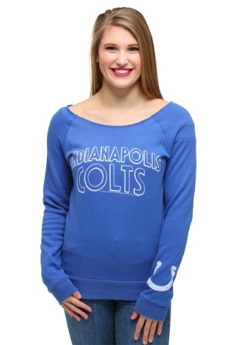 Womens Indianapolis Colts Champion Fleece Sweatshirt